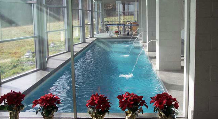 Heated pools for year-round luxury