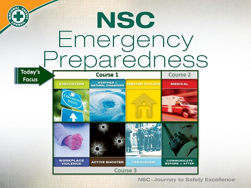 Here's why everyone should practice   emergency preparedness