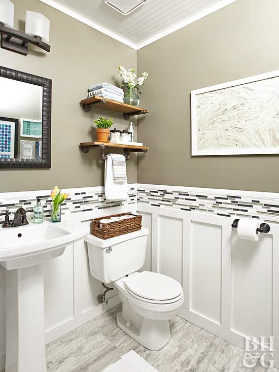 Budget-Friendly Tips for Renovating a Powder Room | Bathroom .