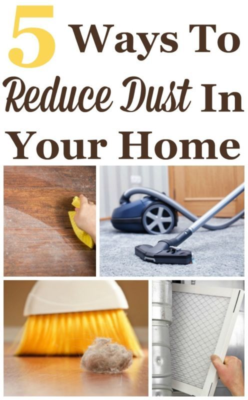 5-Ways-To-Reduce-Dust-In-Your-Home- | Cleaning hacks, Diy home .