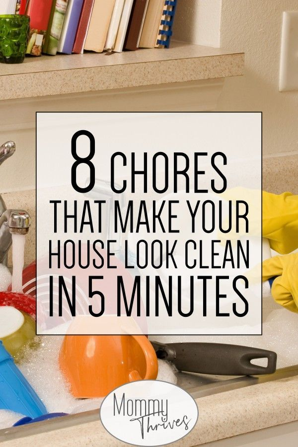Housekeeping tips to keep your house   looking good