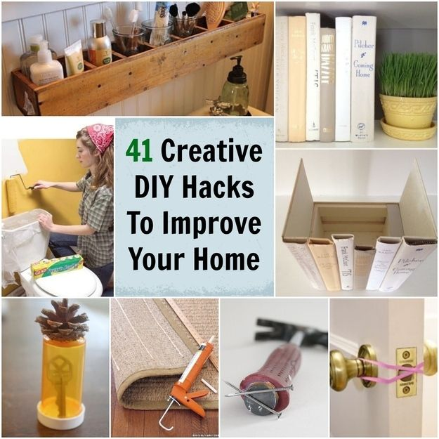 Home DIY hacks you need to know