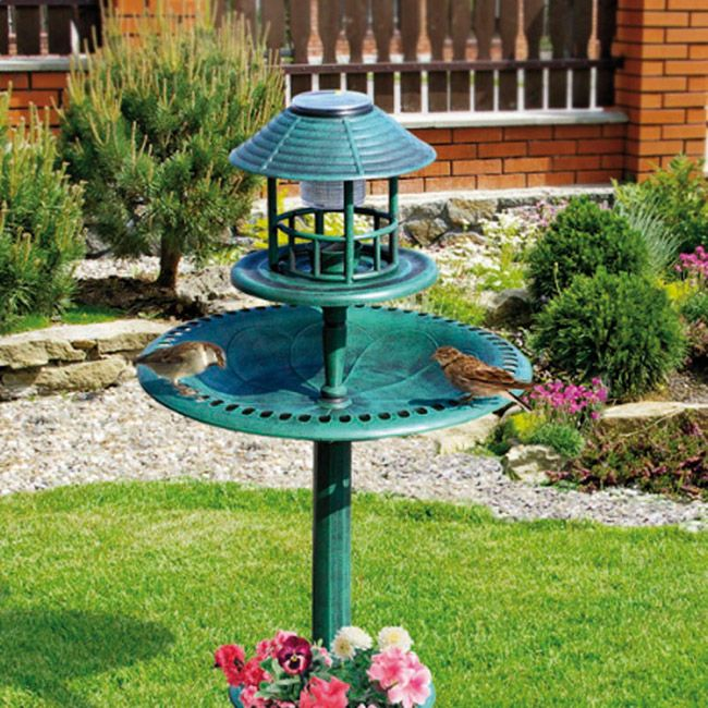 Create a peaceful bird sanctuary in your garden all year round .