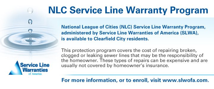 Service Line Protection Available for Homeowners - Clearfield Ci