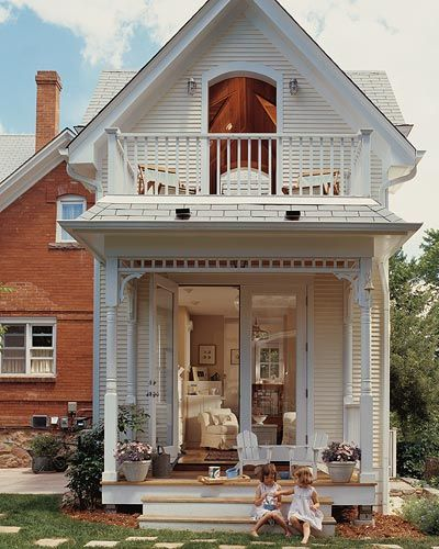 Two-Story Home Additions | Small cottage homes, Small cottage .