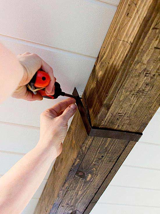 How to Make DIY Rustic Wood Beams for Instant Farmhouse Style .