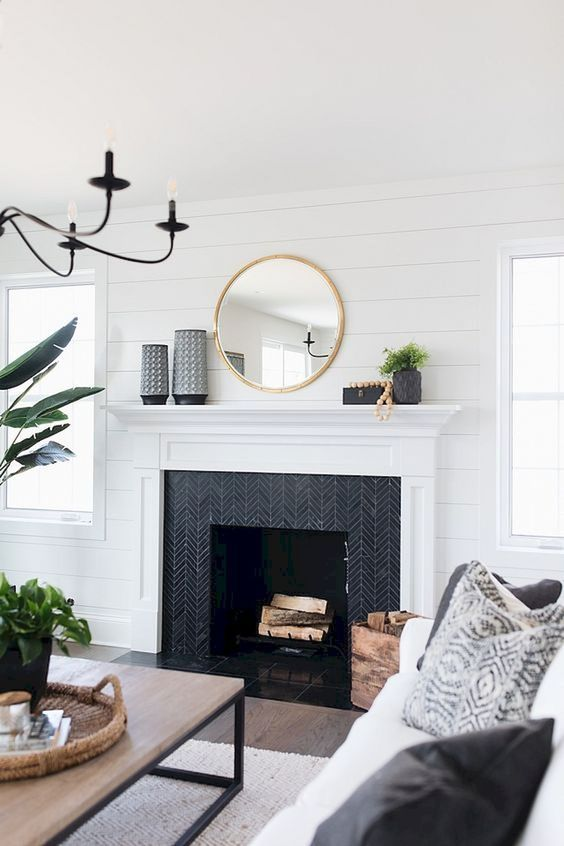 How to Add Character to Your Home | Farm house living room, White .