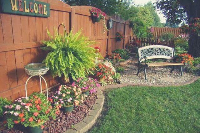 Transform your Backyard into a Paradise Resort   Small backyard .