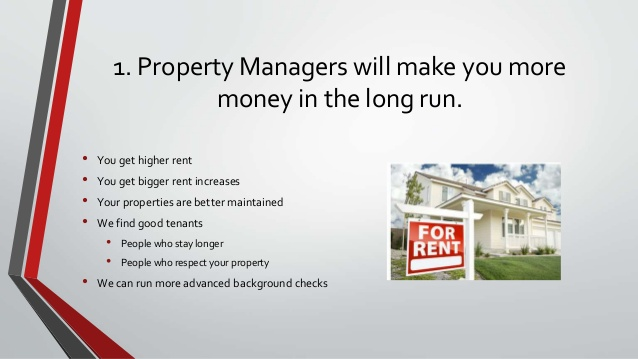 How you can benefit from hiring a   property manager