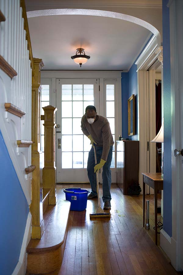 How thorough cleaning can turn your old   house into a spectacular home!