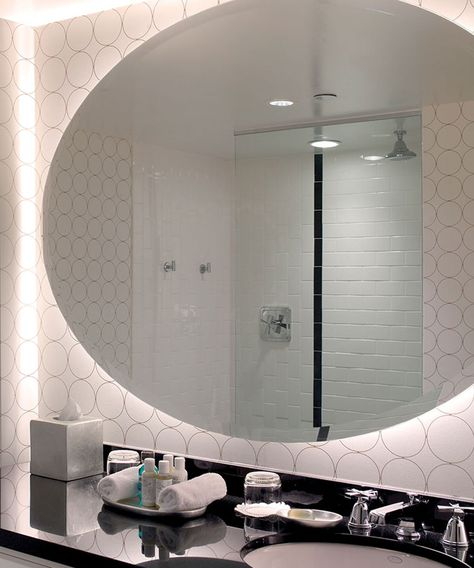 Serenity™ Lighted Mirror | Mirror with lights, Electric mirror, Mirr