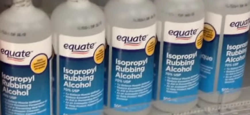 How Rubbing Alcohol Can Be Used To Clean Your Home - Life Maid Ea