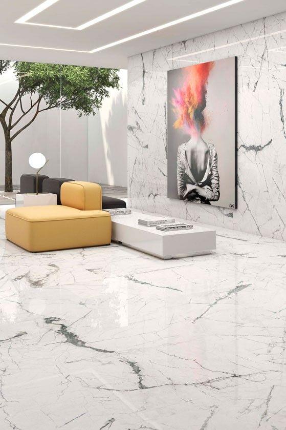 Marble Effect Tiles | Gloss White Tiles | Marble effect, White .