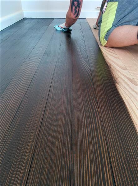 Staining a Tasmanian Oak Floor | Oak floor stains, Oak floorboards .