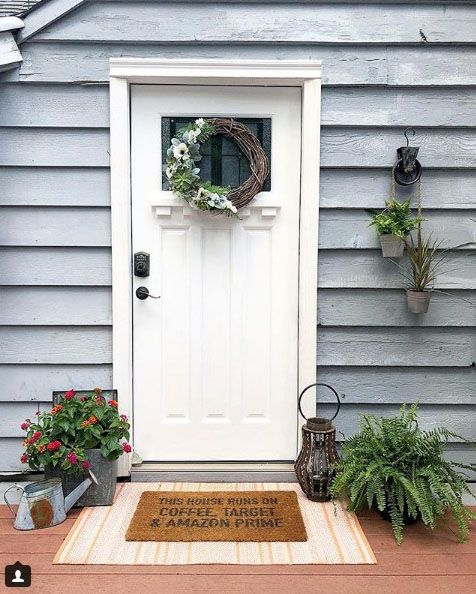 Changing your front door color can have a big impact on the way .