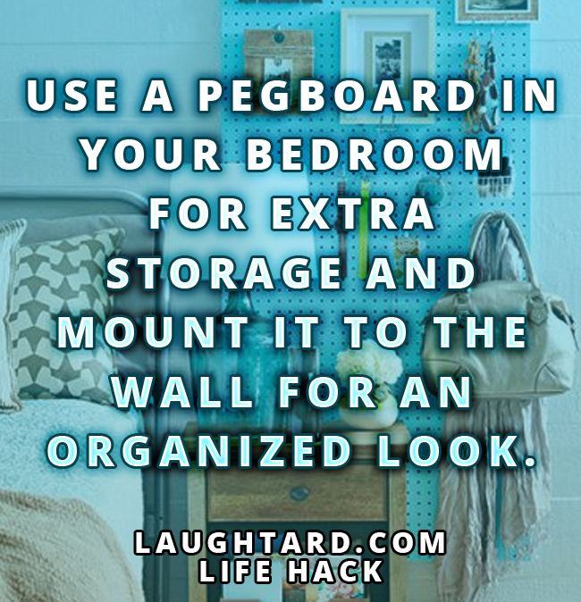 Life Hack To Add Extra Storage To Your Bedroom - LAUGHTA