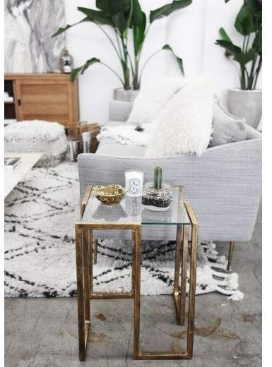 Looking to add some glam to your living space? Look no further .