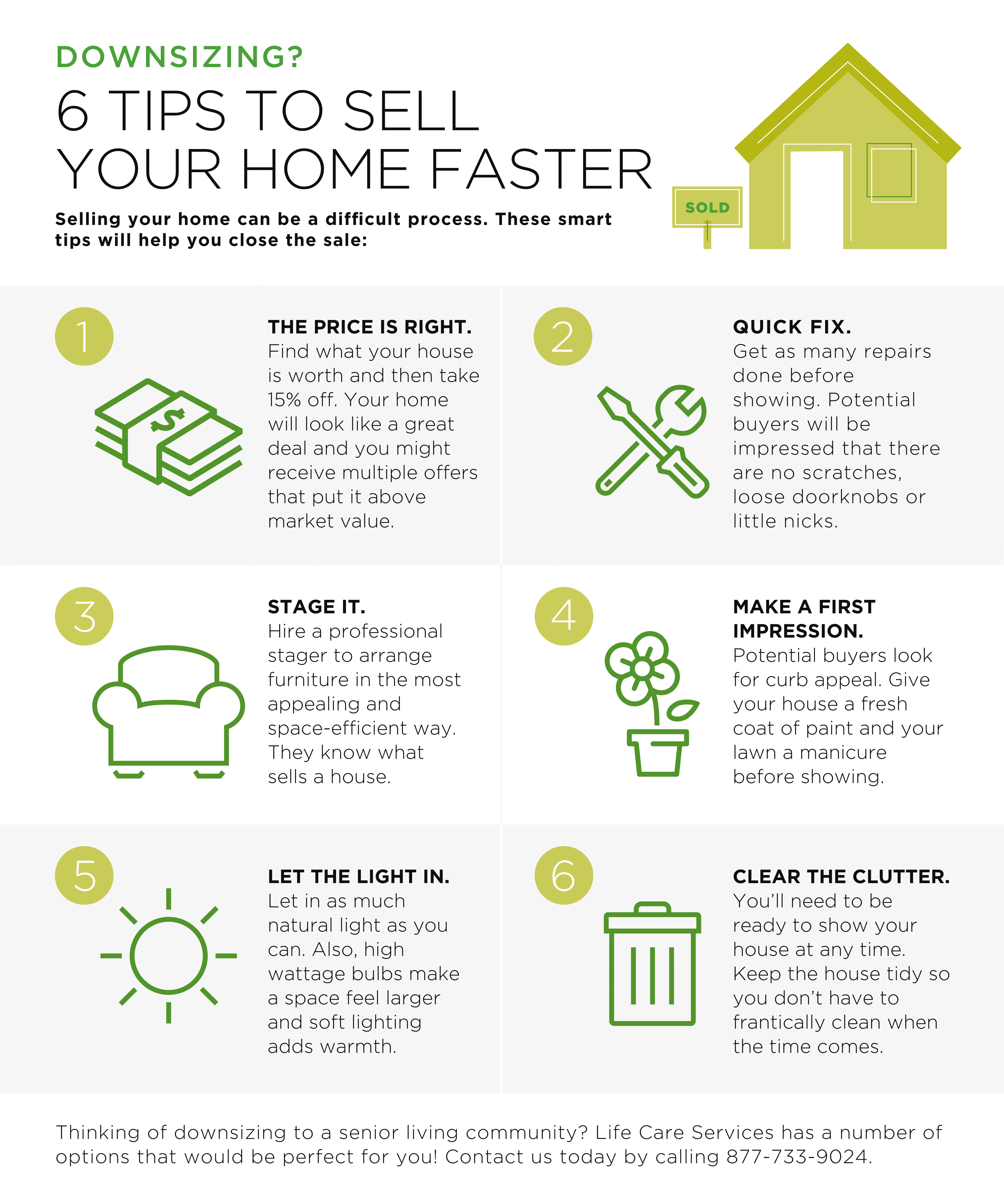 How to arrange your home for a faster   sale