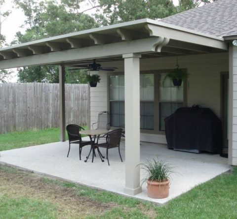 How to Attach a Patio Roof to an Existing House - DIY   PJ Fitzpatri