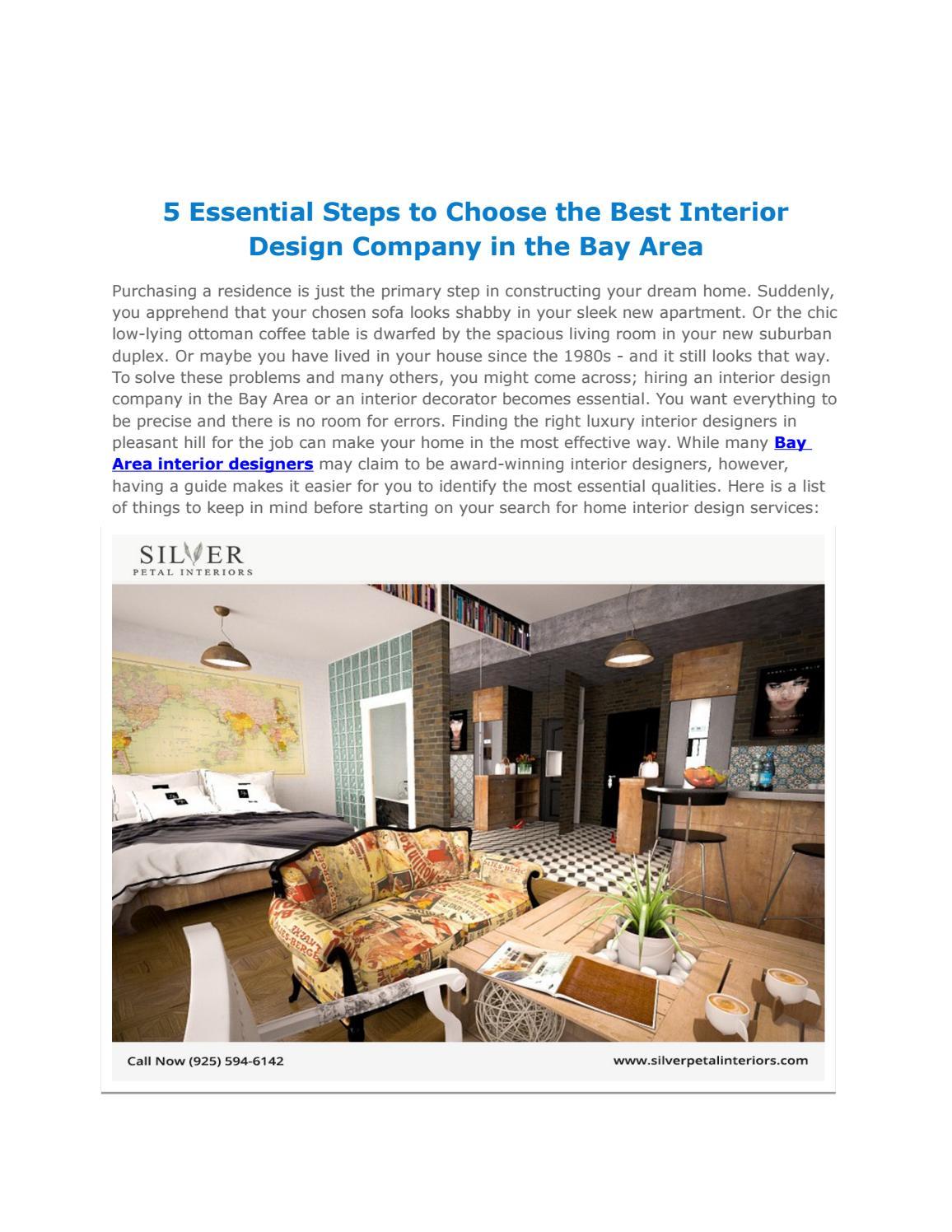 How to choose an interior design company