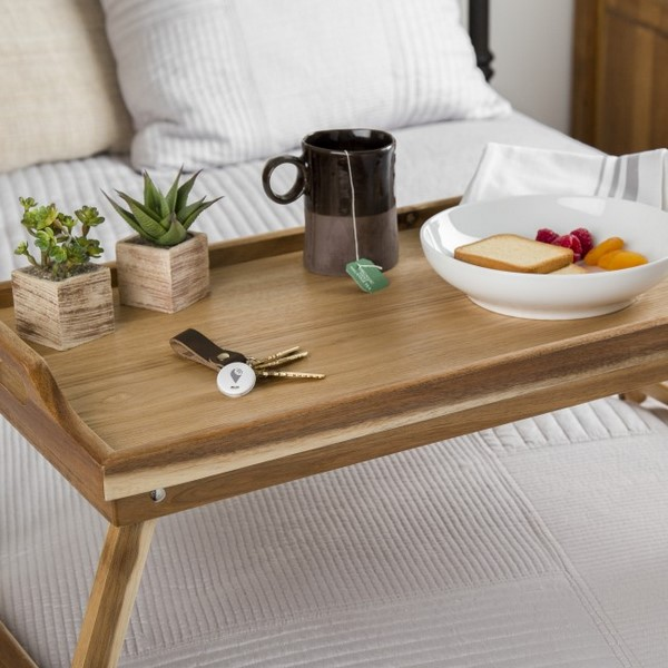 Breakfast in bed tray table design ideas - do you need one for .