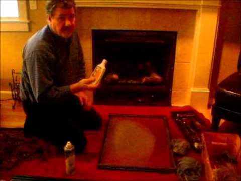 How to Clean Your Gas Fireplace Glass - YouTu