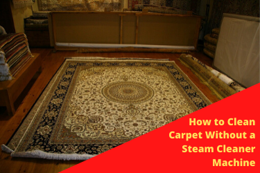 How to Clean Carpet Without a Steam Cleaner Machine - EZ Rug Cleani