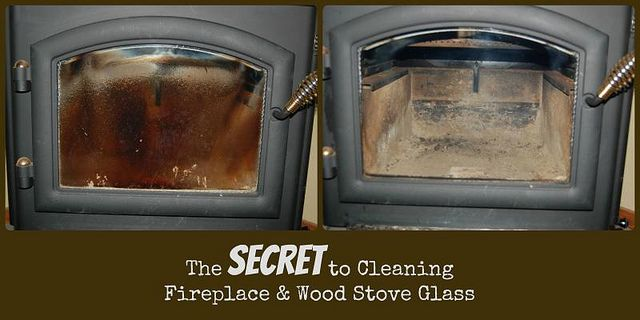 How to Clean the Glass on Your Wood Stove or Fireplace | Cleaning .