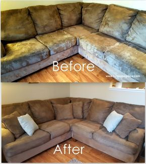 How to clean microfiber furniture to make   it look new
