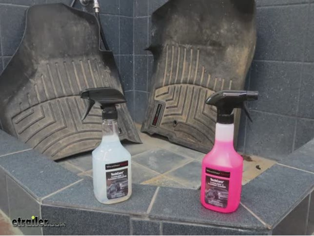 WeatherTech Floor Mats Cleaner and Protector Kit Review Video .