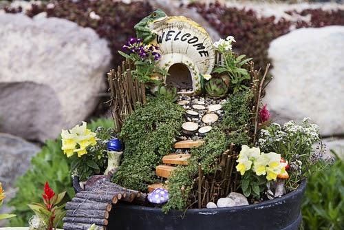 Create a Fairy Garden for Your Balcony or Pat
