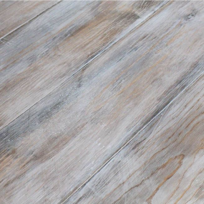 How to Create a Weathered Wood Gray Finish - Angela Marie Made .