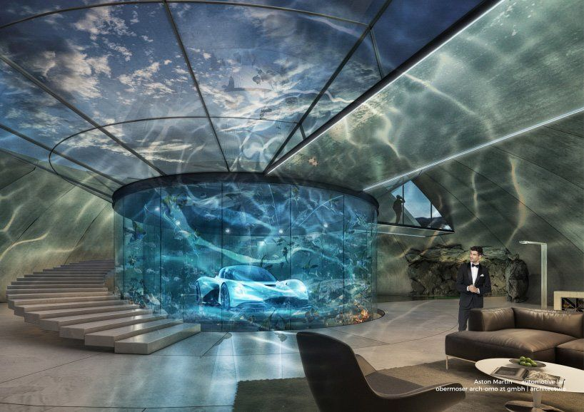 aston martin will build you a james bond-style 'lair' for your car .