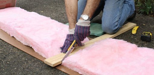 Tip for Cutting Fiberglass Insulation Easily | Today's Homeown