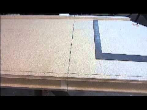 Cutting a Laminate Countertop - DIY - YouTu