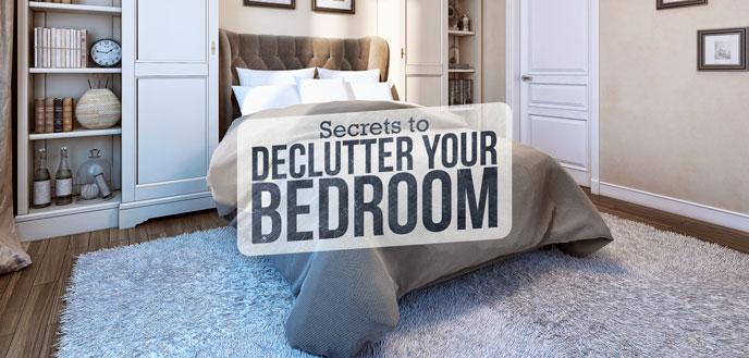 How to Declutter Your Master Bedroom | Budget Dumpst