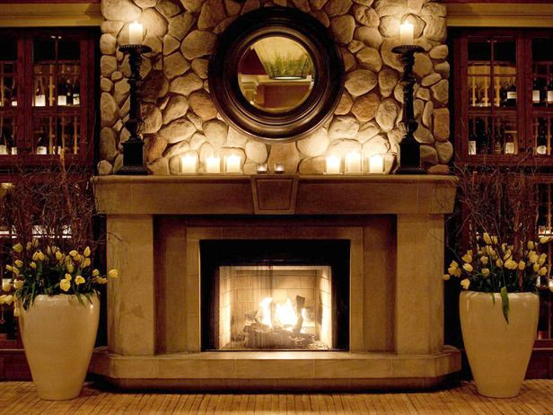 Decorate Your Mantel for Winter | Fireplace mantel decor .