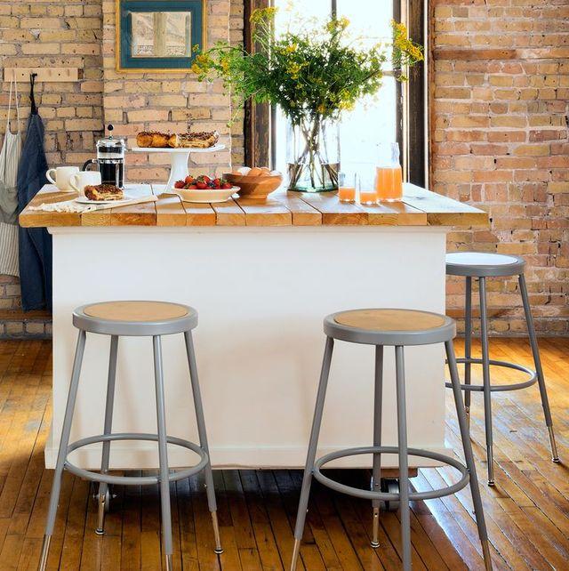 15 DIY Kitchen Islands - Unique Kitchen Island Ideas and Dec