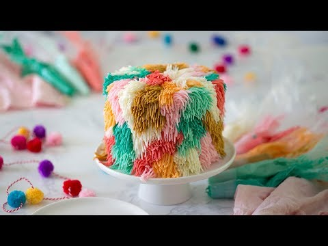 How to Make a Shag Rug Cake - YouTu
