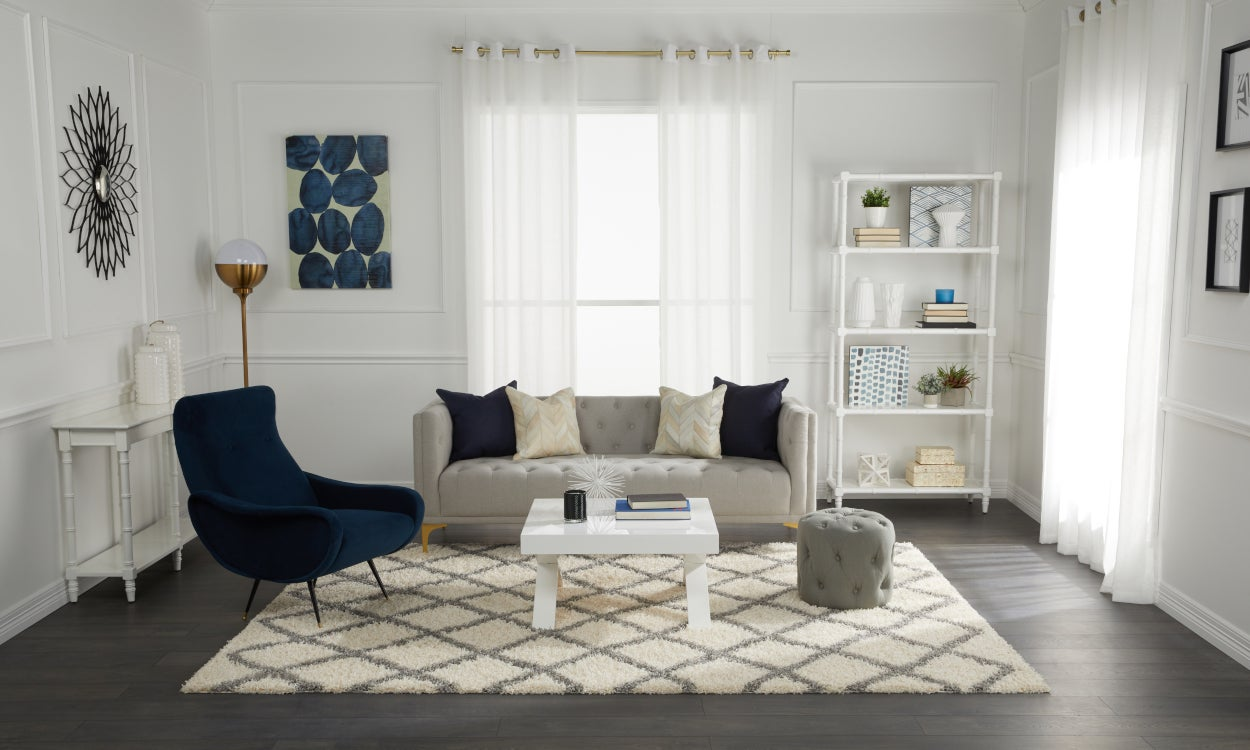 How to decorate with shag carpets