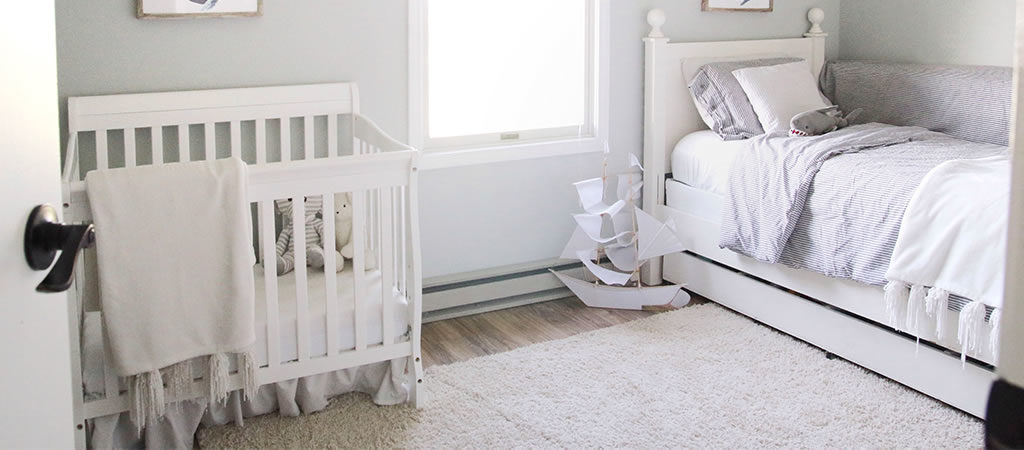 Small Nursery | Closet Nursery | Ideas for Decorati