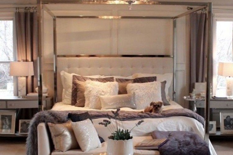 13+ Lovely Luxurious Bedrooms On A Budget   Home Line Ide
