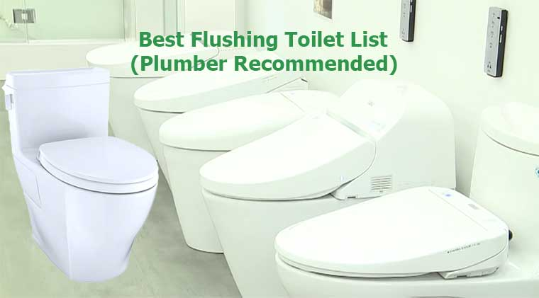 Best Flushing Toilet 2020 Reviews (Plumber Recommended Toilet