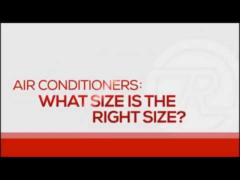 Air Conditioner - How To Select The Proper Size Unit - YouTu