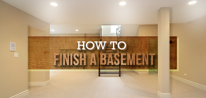 Steps for Finishing Your Basement | Budget Dumpst