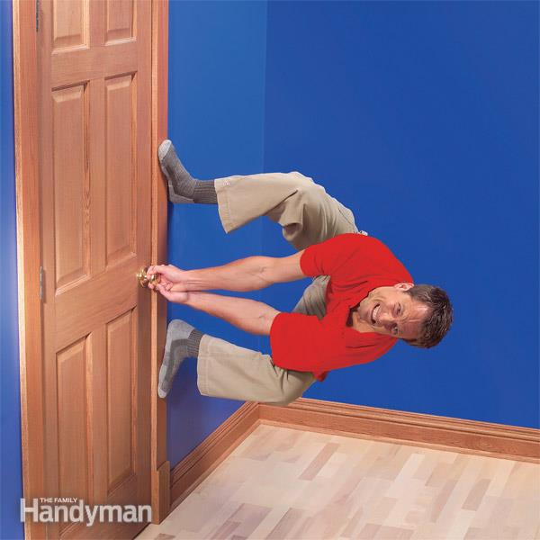 Fix Sagging or Sticking Doors | The Family Handym