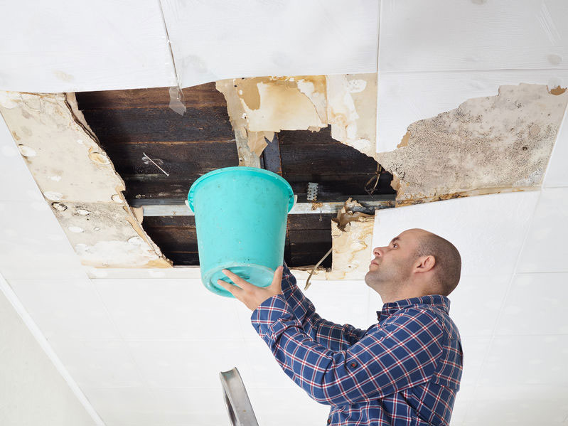 How to repair a leaky roof from the   inside (short tips)