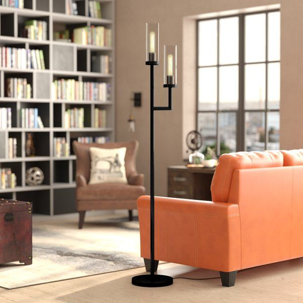 "You'll love the Singleton 72"" LED Torchiere Floor Lamp at Wayfair ."
