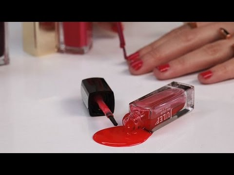 How to Get Nail Polish Stains Out of Anything - YouTu