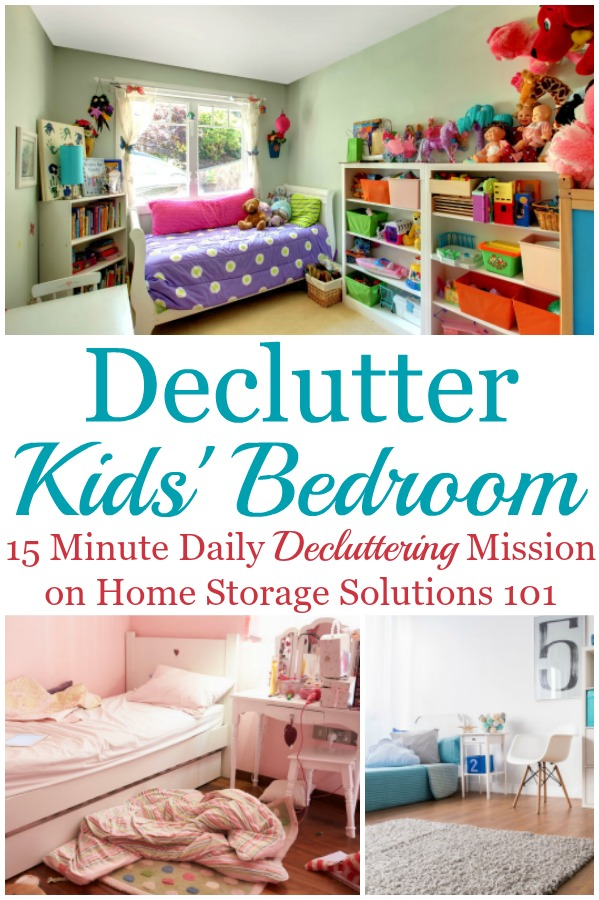 How to get rid of clutter in the bedroom